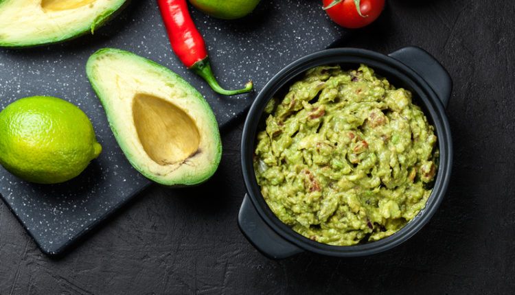 Guacamole, dipsaus van avocado