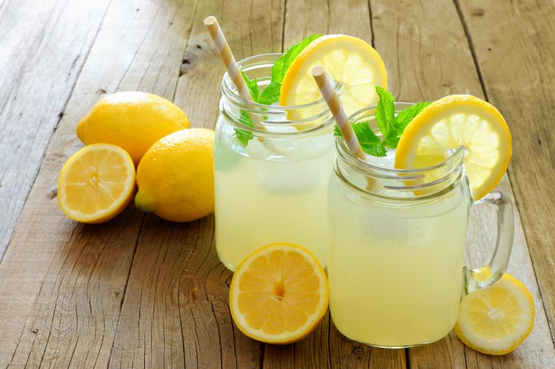 Zelf citroen limonade maken