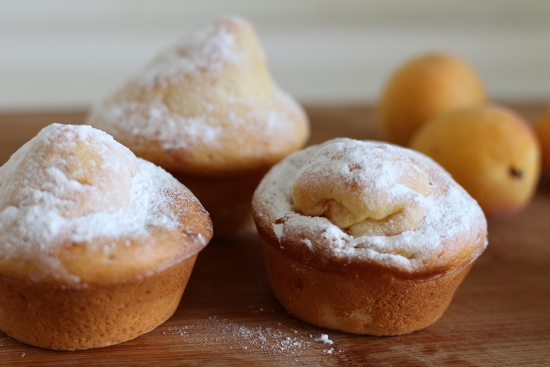Abrikozen ontbijt muffins